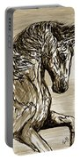 Horse Twins I Portable Battery Charger
