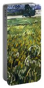 House At Auvers Portable Battery Charger