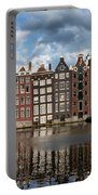 Houses In Amsterdam Portable Battery Charger