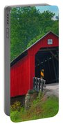 Hune Covered Bridge Portable Battery Charger