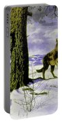 Hunting Wolf Portable Battery Charger