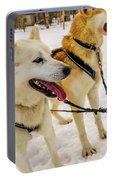 Husky Sled Dogs, Lapland, Finland Portable Battery Charger