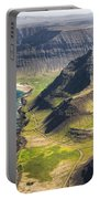 Iceland Plateau Mountains Portable Battery Charger