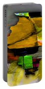 Illinois Map Watercolor Portable Battery Charger