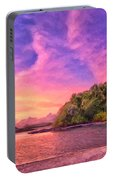 Indian Ocean Sunset Portable Battery Charger