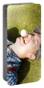 Insane Sport Nut Crazy About Golf Portable Battery Charger