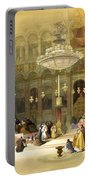 Inside The Church Of The Holy Sepulchre Portable Battery Charger