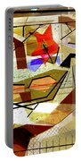 Interstate 10- Exit Out West- Where Life Begins New- Rectangle Remix Portable Battery Charger