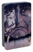 Iron Eyes Cody Homage The Big Trail 1930 The Crying Indian Black Canyon Arizona 2004 Portable Battery Charger
