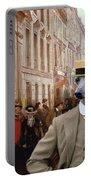 Italian Greyhound Art Canvas Print Portable Battery Charger