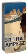 Italian Travel Poster Portable Battery Charger