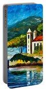 Italy Lake Como Villa Balbianello Portable Battery Charger