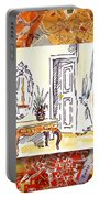Italy Sketches Venice Hotel Portable Battery Charger