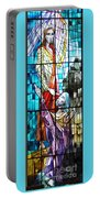 Jesus Healing The Blind Man Portable Battery Charger