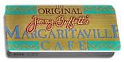 Jimmy Buffetts Margaritaville Cafe Sign The Original Portable Battery Charger