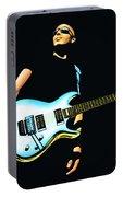 Joe Satriani Painting Portable Battery Charger
