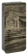 John Oliver Cabin In Cades Cove Portable Battery Charger