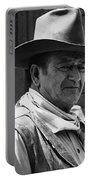 John Wayne Rio Lobo Old Tucson Arizona 1970 Portable Battery Charger