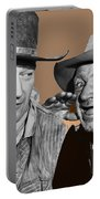 John Wayne Walter Brennan Publicity Photo Red River 1948-2013 Portable Battery Charger