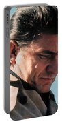 Johnny Cash Music Homage Ballad Of Ira Hayes Old Tucson Arizona 1971 Portable Battery Charger