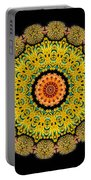 Kaleidoscope Ernst Haeckl Sea Life Series Triptych Portable Battery Charger