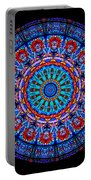 Kaleidoscope Stained Glass Window Series Portable Battery Charger