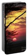Kenyan Sunset Portable Battery Charger