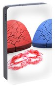 Kisses From The Heart Portable Battery Charger