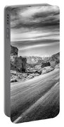 Kyle Canyon Road Portable Battery Charger by Howard Salmon