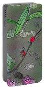 Ladybug Slide Portable Battery Charger
