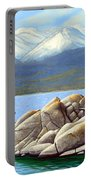 Lake Tahoe Sand Harbor Portable Battery Charger