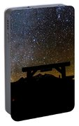 Last Dollar Gate And Milky Way Starry Portable Battery Charger