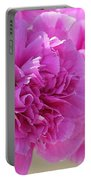 Lavender Carnations Portable Battery Charger