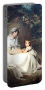 Lawrence's Lady Mary Templetown And Her Eldest Son Portable Battery Charger