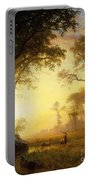 Light In The Forest Portable Battery Charger