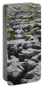 Limestone In The Burren Portable Battery Charger