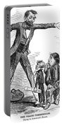 Lincoln Cartoon, 1865 Portable Battery Charger