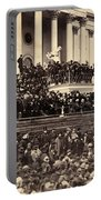 Lincoln's Inauguration, 1865 Portable Battery Charger
