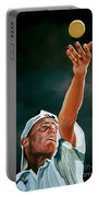 Lleyton Hewitt Portable Battery Charger by Paul Meijering