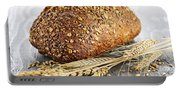 Loaf Of Multigrain Bread Portable Battery Charger