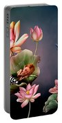 Sleeping Fairy Portable Battery Charger