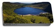 Lough Tay Below Luggala Mountain Portable Battery Charger