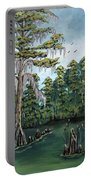 Louisiana Cypress Portable Battery Charger