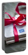 Love Letters Tied With Ribbon Portable Battery Charger