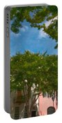 Lowcountry Rainbow Row Portable Battery Charger
