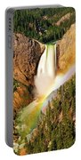 Lower Falls Rainbow Portable Battery Charger