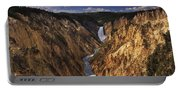 Lower Yellowstone Falls II Portable Battery Charger