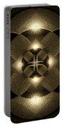 Luminous Mandala Portable Battery Charger