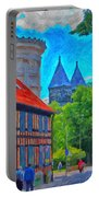 Lund Street Scene Portable Battery Charger