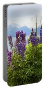 Lupin Blooms Portable Battery Charger